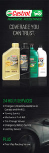 Castrol free roadside assistance from Urban Lube