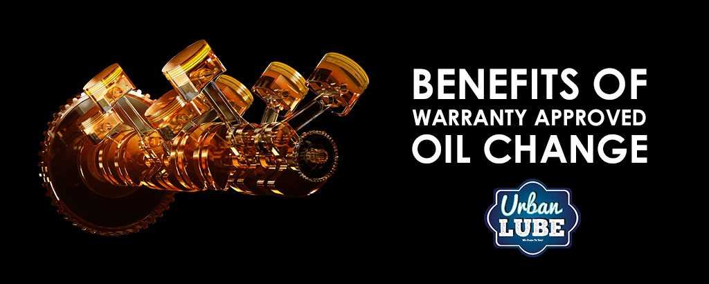 Warranty Approved Oil Changes