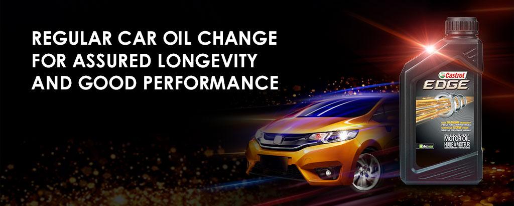Regular Car Oil Change