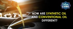 Synthetic Oil And Conventional Oil