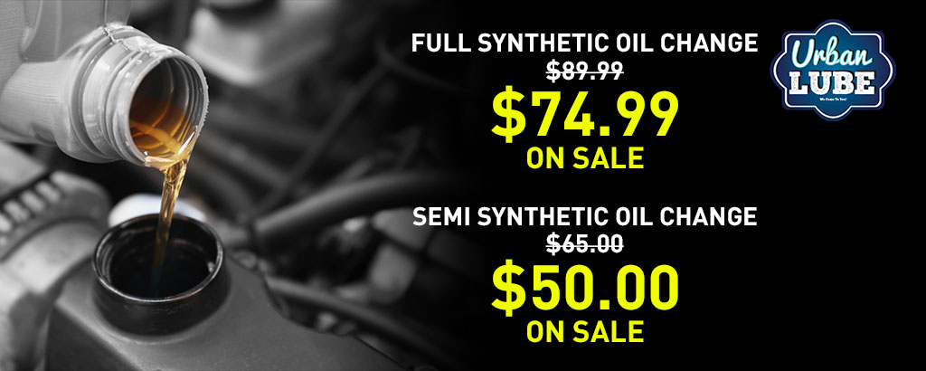 Synthetic Oil And Conventional Oil Offer