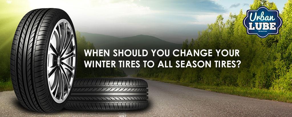 Winter Tire To All Season Tire