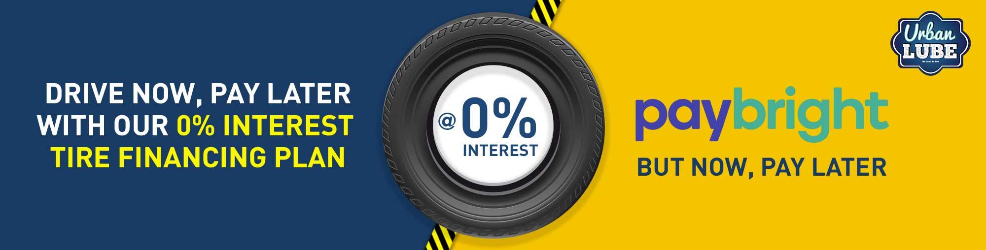 Tire Financing Plan