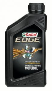 Castrol EDGE full synthetic motor oil 5w 30, 5w 20