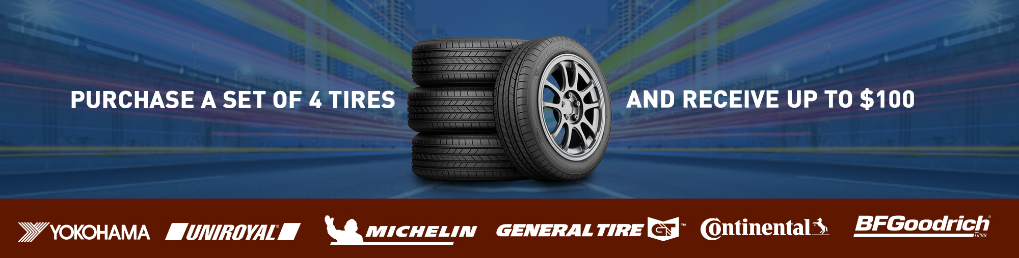 Tire Rebate and Promotions
