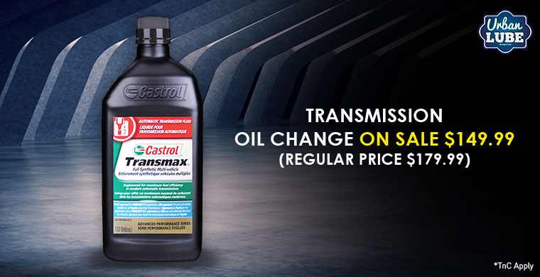 transmission oil change