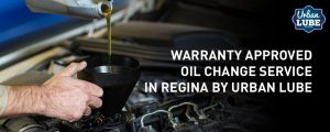 Warranty Approved Oil Change