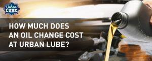 OIl Change Cost